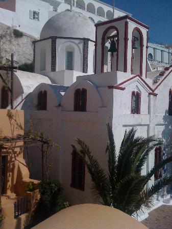 Villa Renos: The little church next door
