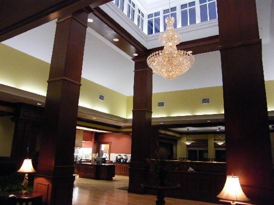 hilton garden inn bangor entrance area of the lobby - Hilton Garden Inn Bangor