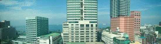 Citystate Tower Hotel: vue de la chambre au 5 etage