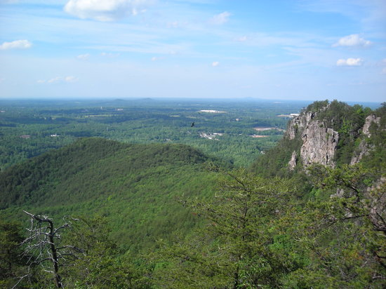 Crowders Mountain State Park: View from summit, Crowder's Mtn.