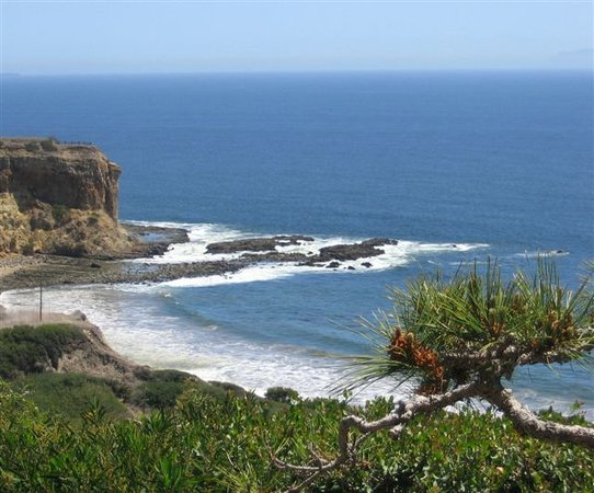 Rancho Palos Verdes, Kalifornien: Looking down upon the beautiful beach