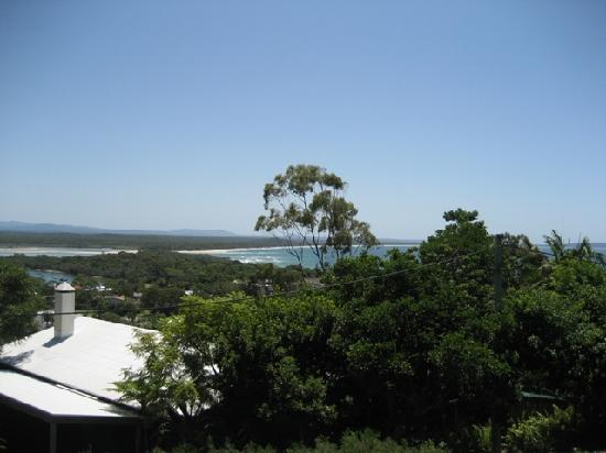 The Lookout Resort Noosa: our view from balcony