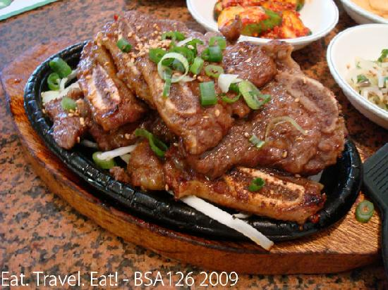 Young Dong Garden: Kalbi- Shortribs
