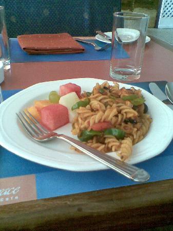 Crowne Plaza Kathmandu-Soaltee: delicious pasta