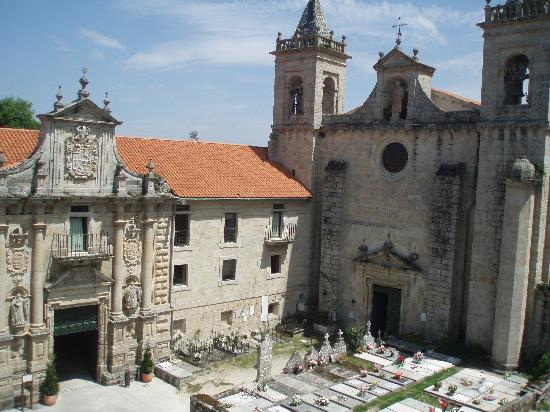 Nogueira de Ramuín, España: la vista segun se llega
