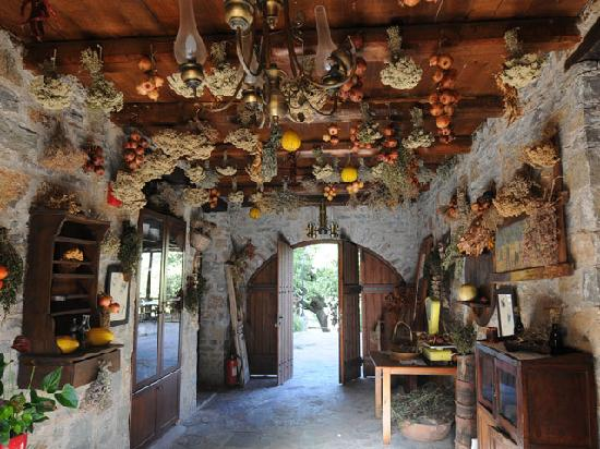 Enagron Ecotourism Village: Corridor decoration