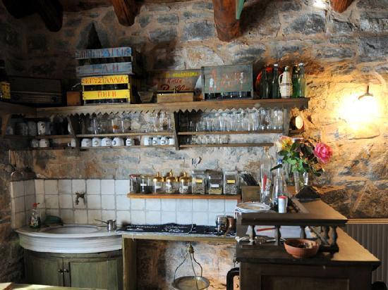 Enagron Ecotourism Village: traditional cafenion