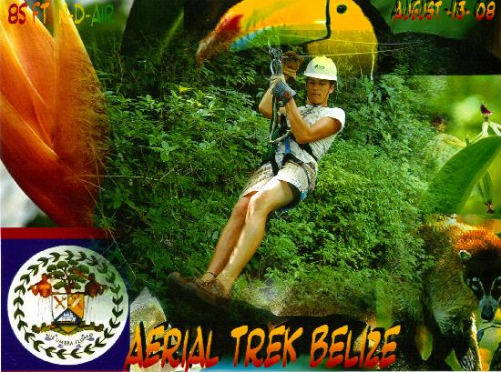 Belize Cruise Excursions: More zip lining--------
