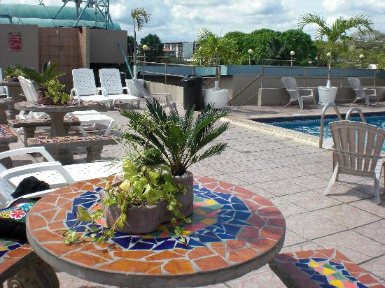 Hotel Roma Plaza: Rooftop Pool