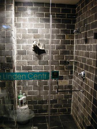 The Linden Centre : Hot water shower - a rarity in rural Yunnan