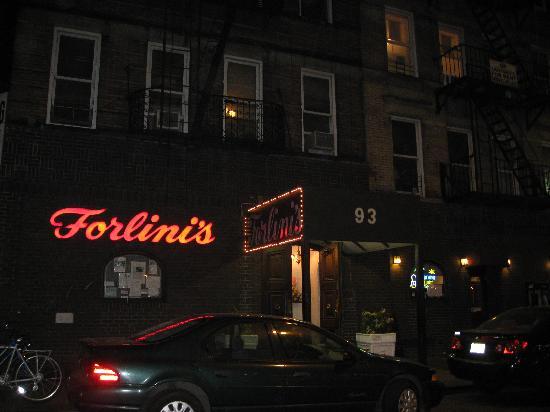 Forlini's Restaurant: Forlini's at Night