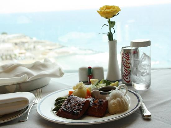 Rosewood Jeddah : Room service with a view
