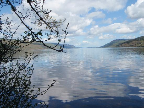 Kinbrylie: View of Loch Ness from Foyer