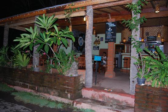 Warung Dolphin: View from Jl. Laviana