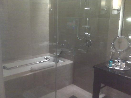 Trump International Hotel & Tower Chicago: Tub and shower