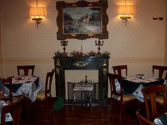 Hotel Del Corso: SALA COLAZIONE