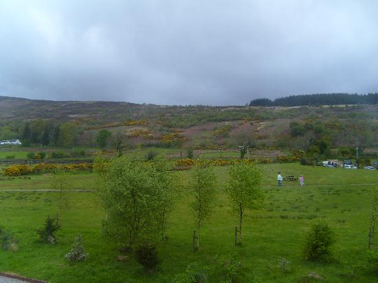 Auchrannie House Hotel: View from room 20
