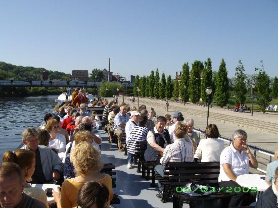 Steigenberger Hotel Sanssouci: Havel Boat Tour