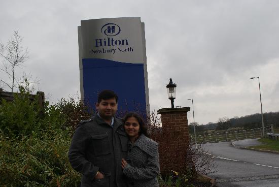 Hilton Newbury North: Hotel entrance