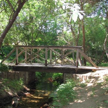 Footbridge Over The Stream In Calabasas Park Picture Of