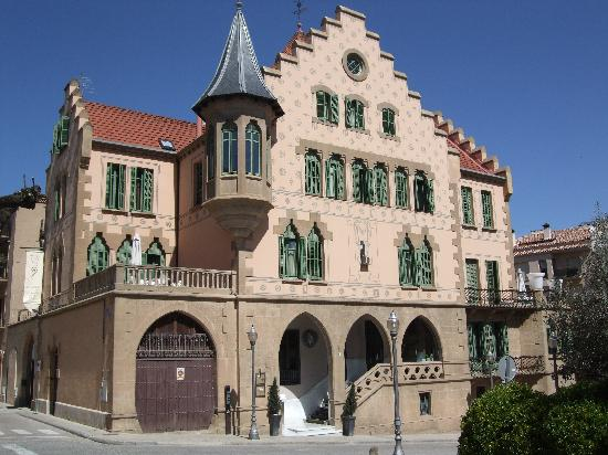 Solsona, Spanien: Front of the hotel