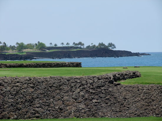 Kohala Coast, Hawái: #7 South, would've been picture-perfect without vog
