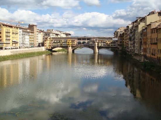 Soggiorno Alessandra is just a block and bridge away from Ponte Vecchio