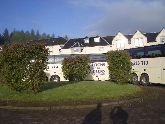 Loch Achray Hotel: Ready to come home