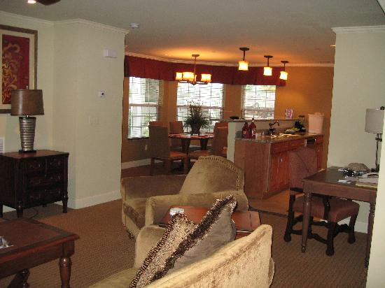 Suites at Fall Creek: Kitchen, Living Room, Dining Room