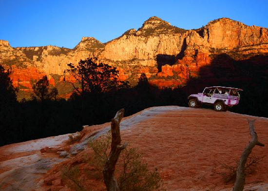 Best Western Plus Inn of Sedona: pink jeep tour sedona