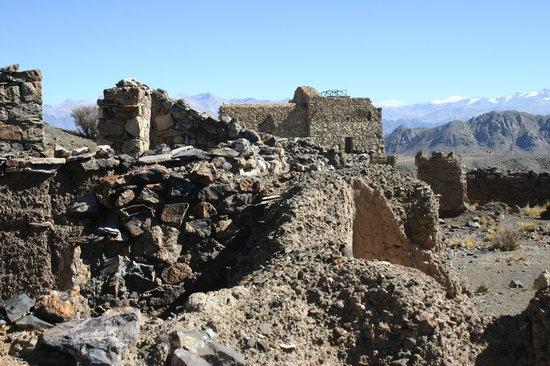 Mendoza, Argentine : Ruinas das Minas de Paramillos