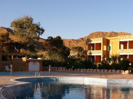 Gafsa, Túnez: hotel from pool