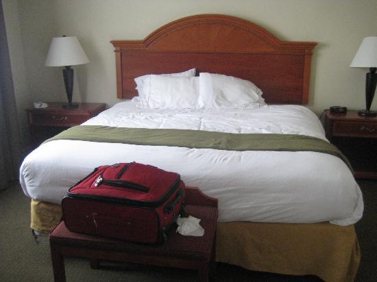 Holiday Inn Express Suites Gananoque: Bedroom