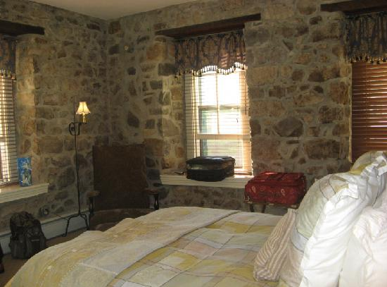 "Inn at St. Peter's Village: Entering ""The Stone Room"""