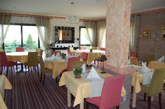 Hotel Crystal : la salle de restaurant