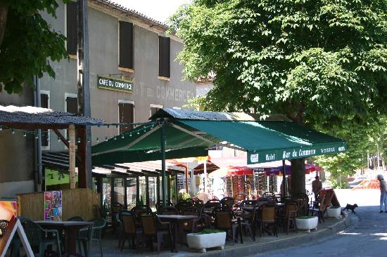 Saint-Antonin Noble Val, France : Bar Commerce - St Antonin Noble Val