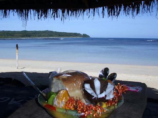 Savaii Lagoon Resort: Breakfast