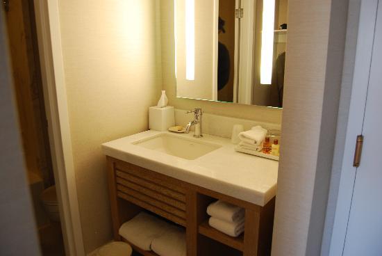 Sheraton Fisherman's Wharf Hotel: Tiny bathroom