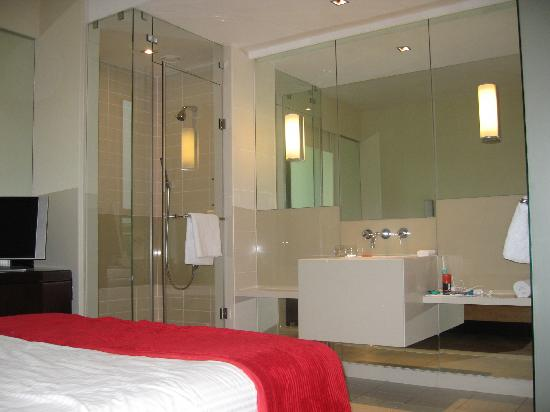 SunSquare Montecasino: Typical room w/glass shower