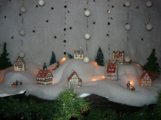 Hotel Haus Hillesheim: Christmas decoration in the hotel