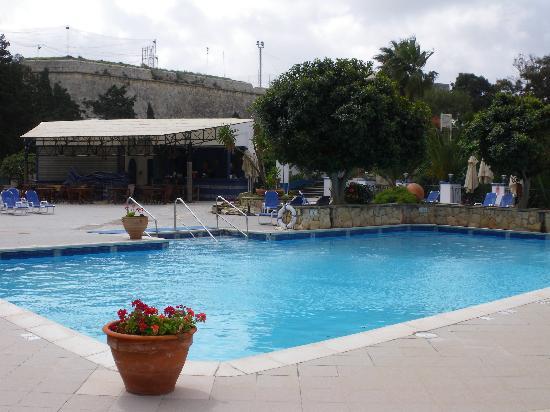 The Phoenicia Malta: Pool area