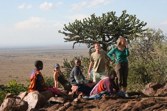 Maji Moto Eco Camp: view from the camp