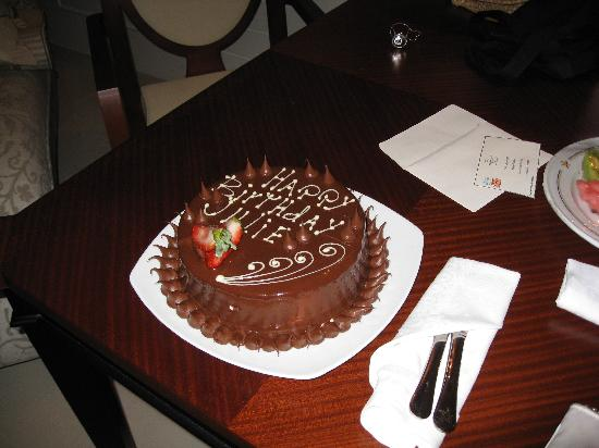 Iberostar Grand Hotel Bavaro: My Birthday cake at the resort