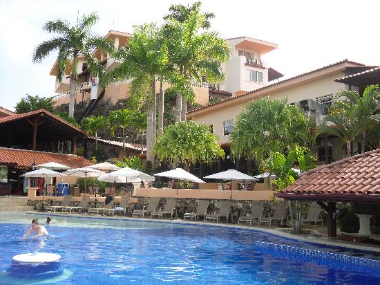 Simply gorgeous Hotel Parador from the pool