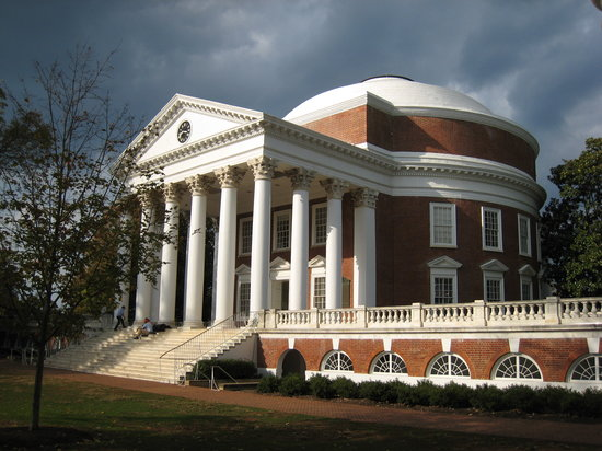 Charlottesville, Virginie : The Rotunda