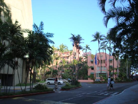 Azure Restaurant: Royal Hawaiian Hotel, site of Azure