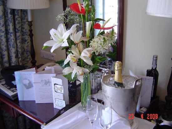 Belmond Reid's Palace : Champagne on ice!