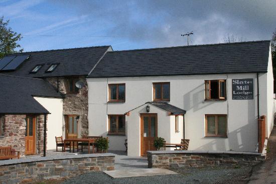 Slate Mill Lodge: Peaceful location