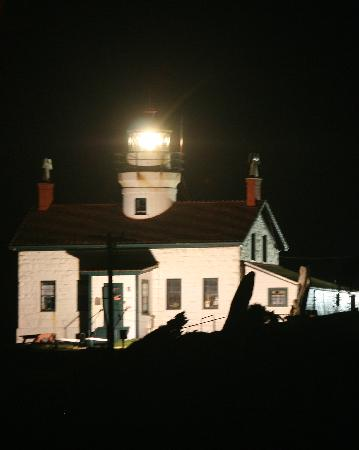 Battery Point Lighthouse, Crescent City - at night