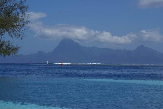 Manava Suite Resort Tahiti : ラグーンとモーレア島の組み合わせが良いと思います。